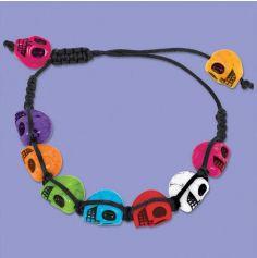 "Bracelet ""Day of the Dead"" Multicolore"