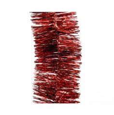 Guirlande de Noël - Rouge - 2.7m