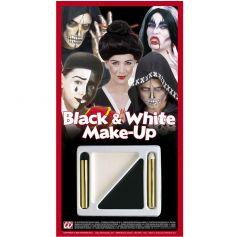 Set de Maquillage Noir et Blanc