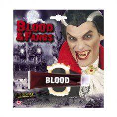 Pack de vampire - Dents et faux sang