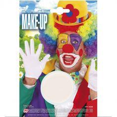 Fard gras de maquillage - Blanc