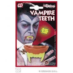 Dents Vampire Phosphorescentes - Accessoire Halloween