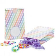 8 Sachets à Bonbons Multicolores Licorne