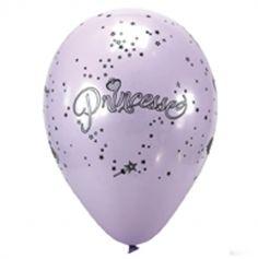 """8 Ballons de baudruche """"Princesse"""""""