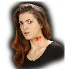Prothèse de maquillage - Morsure de vampire