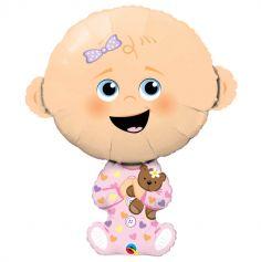 Ballon hélium Baby Girl