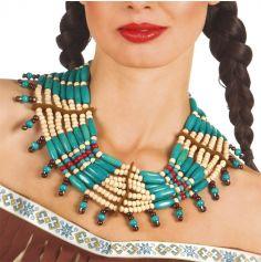 Collier de perles - Costume indien