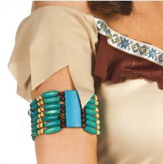 Bracelet de perles - Costume indien
