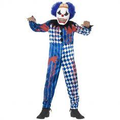 Déguisement Garçon - Clown avec Cerveau (Combinaison et Masque Inclus) - Taille au Choix