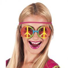 Lunettes de hippie