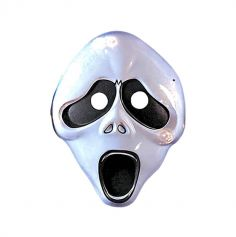Masque en Plastique Fantôme