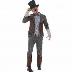 Déguisement de zombie homme marié