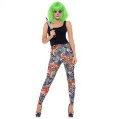 Leggings Femme - Clown Maléfique - Taille au Choix