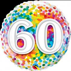 Ballon hélium 60 ans