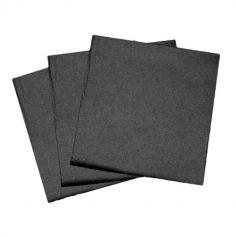 50 Serviettes 40 x 40 cm - Non tissé - Couleur au Choix