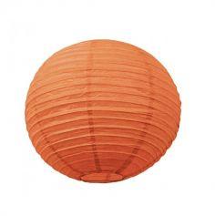 Lanterne Japonaise en Papier Orange - 50 cm
