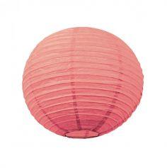 Lanterne Japonaise en Papier Corail - 35 cm