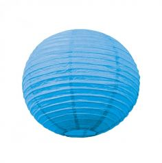 Lanterne Japonaise en Papier Bleu LagonTurquoise - 50 cm