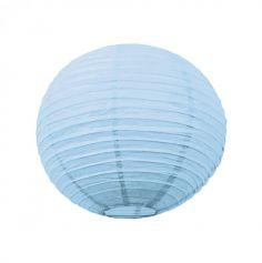 Lanterne Japonaise en Papier Bleu Ciel - 50 cm