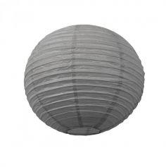 Lanterne Japonaise en Papier Grise - 50 cm