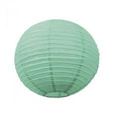 Lanterne Japonaise en Papier Vert Menthe - 50 cm