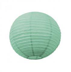 Lanterne Japonaise en Papier Vert Menthe - 35 cm