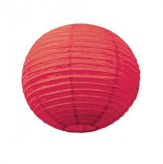 Lanterne Japonaise en Papier Rouge - 50 cm