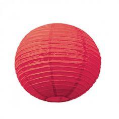 Lanterne Japonaise en Papier Rouge - 15 cm