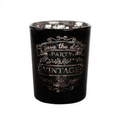 Photophore Vintage Noir