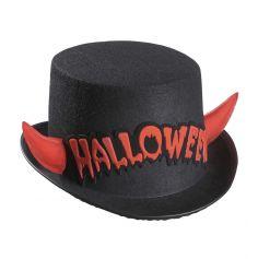 Chapeau Halloween Cornes du Diable en Feutre