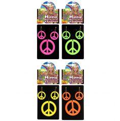 Ensemble Bijoux Hippie Fluo - Coloris au Choix