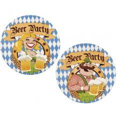 Sachet de 10 sous-verres Oktoberfest