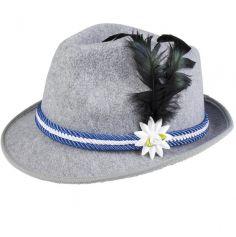 Chapeau de Tyrolien en Feutre pour Homme