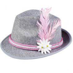 Chapeau de Tyrolien en Feutre pour Femme