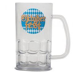 Chope de Bière en Plastique - Oktoberfest