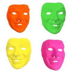 Masque Carnaval Néon Homme - Coloris au choix