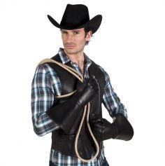 Gants de Cowboy - Effet cuir