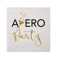 "20 Serviettes ""Apéro Party"""