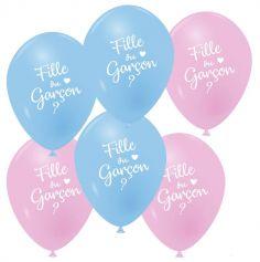 ballon-latex-rose-bleu-naissance | jourdefete.com