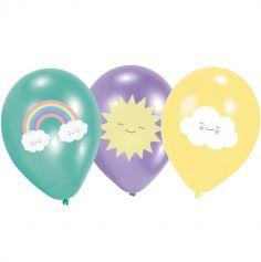 ballons-latex-baby-shower-pastel | jourdefete.com