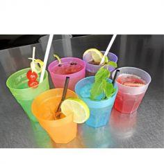 6 Verres à Cocktail 350 ML - Coloris au choix
