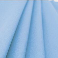 Rouleau de Nappe en Voie Sèche Intissé Bleu Ciel 10 m