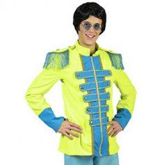 Veste Homme Beatles Vert Fluo - Taille au choix