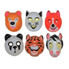 Masque Animaux Carnaval Enfant - Modèles Divers