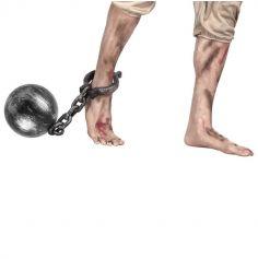 Boulet avec chaine