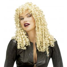 Perruque Cheveux Blonds crêpés