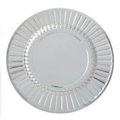 6 Sous-Assiettes 33 cm - Argent
