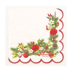 16 Serviettes en Papier - Christmas Elegance