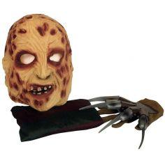 Kit Complet de Déguisement Freddy Krueger