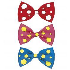 Accessoire Maxi Noeud Papillon Clown - Coloris au Choix